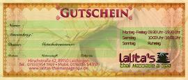 Gutschein (Voucher)